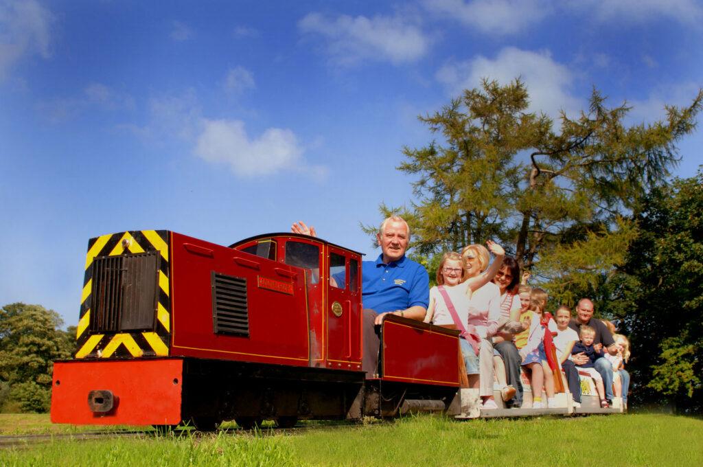 Carnfunnock Miniature Railway Larne